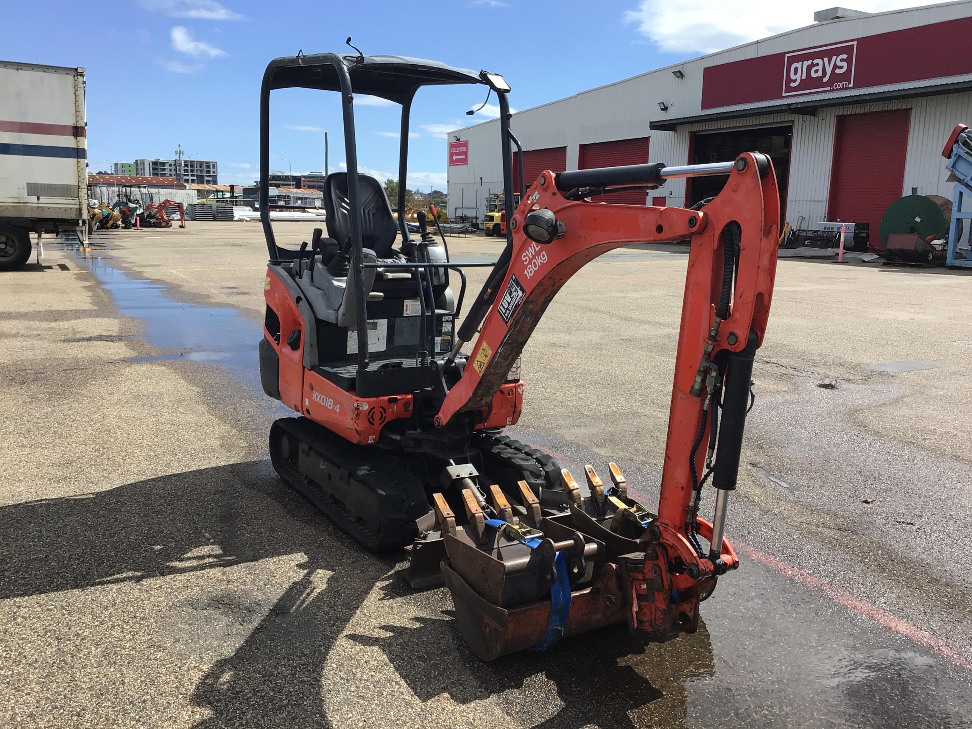 Kubota KX018-4 Hydraulic Excavator
