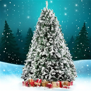 Christmas Snowy Tree 1.8m