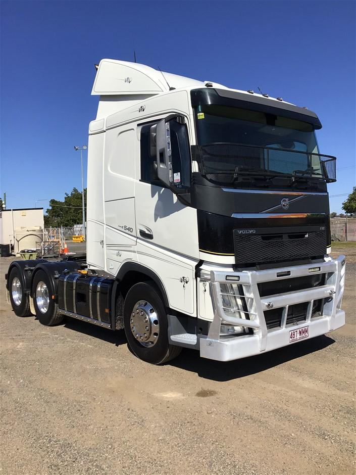 2016 Volvo FH540 6 x 4 Prime Mover Truck
