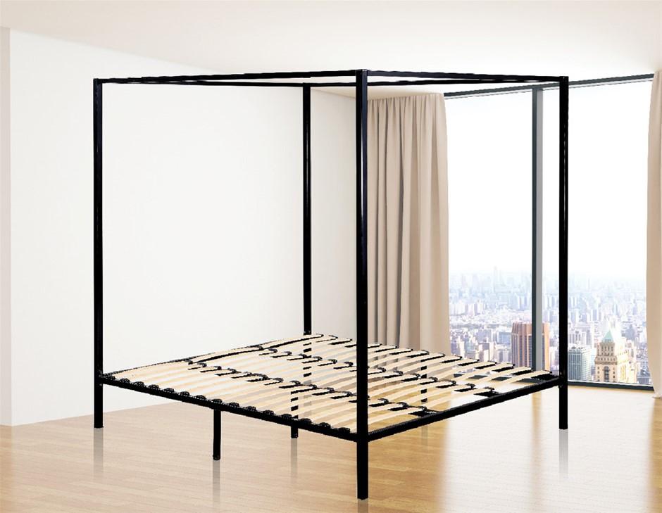 4 Four Poster King Bed Frame