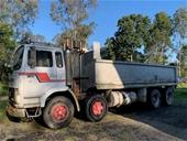 1981 Volvo F7 8 x 4 Tipper Truck