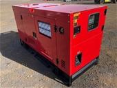 2021 Unused 60kVA,  40kVA & 25kVA Generators - Toowoomba