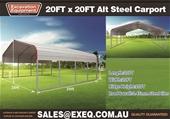 2021 Unused 20ft x 20ft Carports - Toowoomba