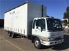 <p>2000 Hino  FD 6 x 2 Curtainsider Rigid Truck</p>