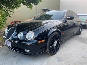 1999 Jaguar S-type 5 Speed Automatic Sed