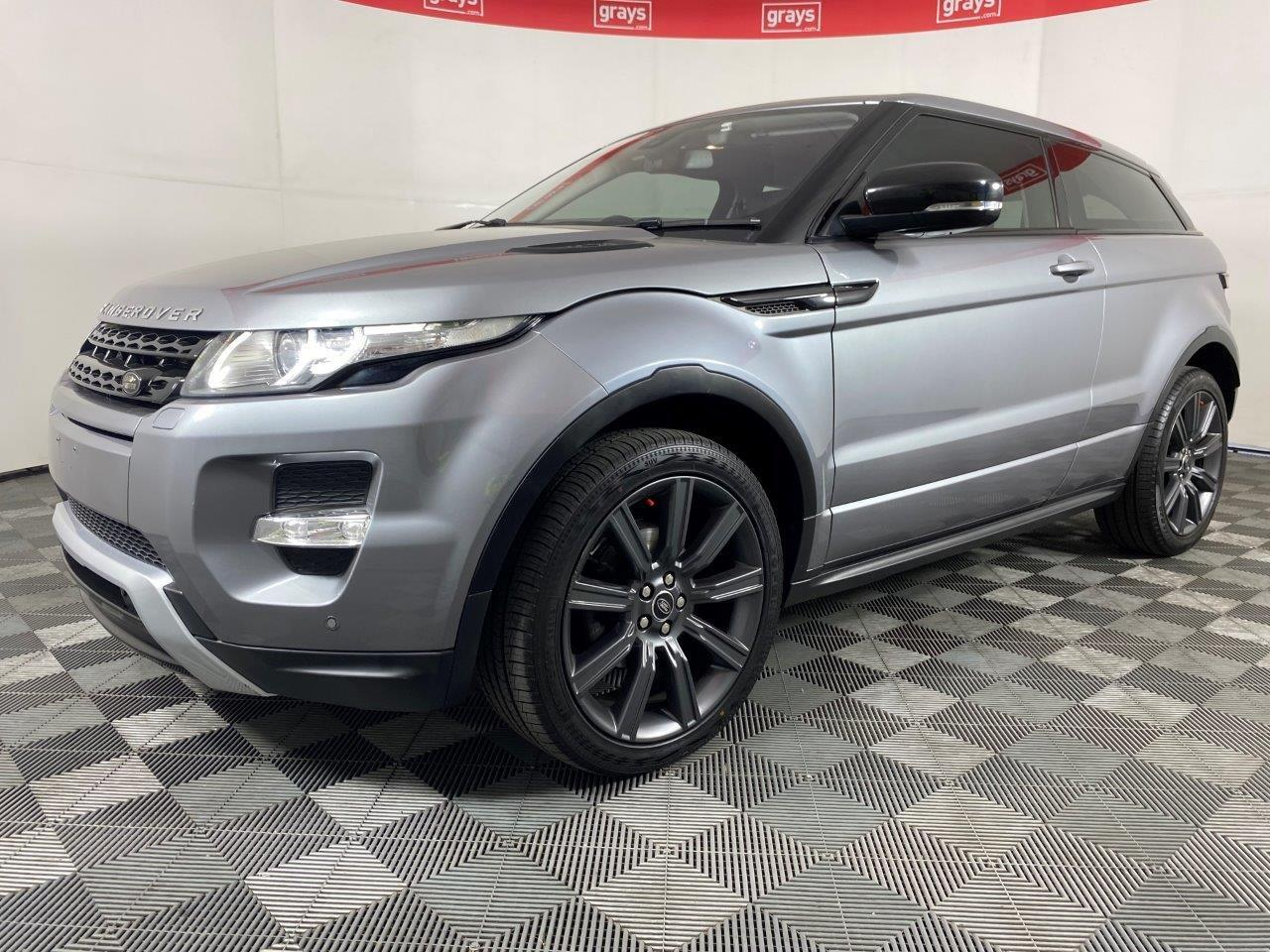2013 Land Rover Range Rover Evoque TD4 DYNAMIC Turbo Diesel Automatic Coupe