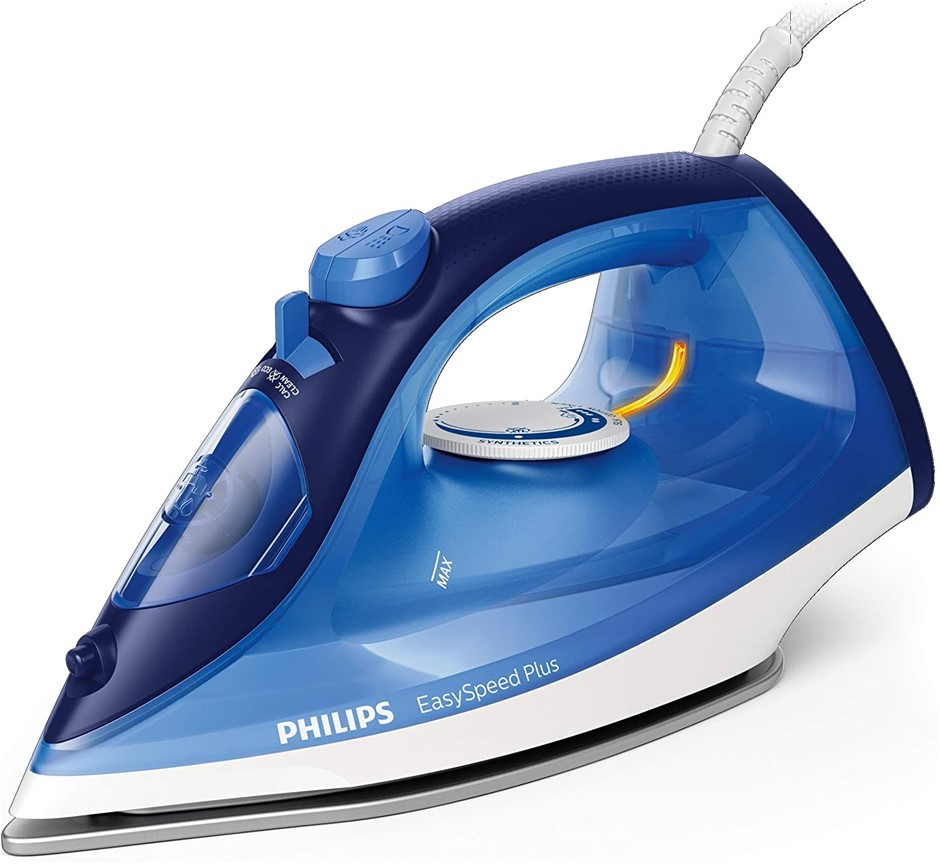 PHILIPS Steam Iron with Ceramic Soleplate, Model GC2145/29, 2400W. NB: Mino