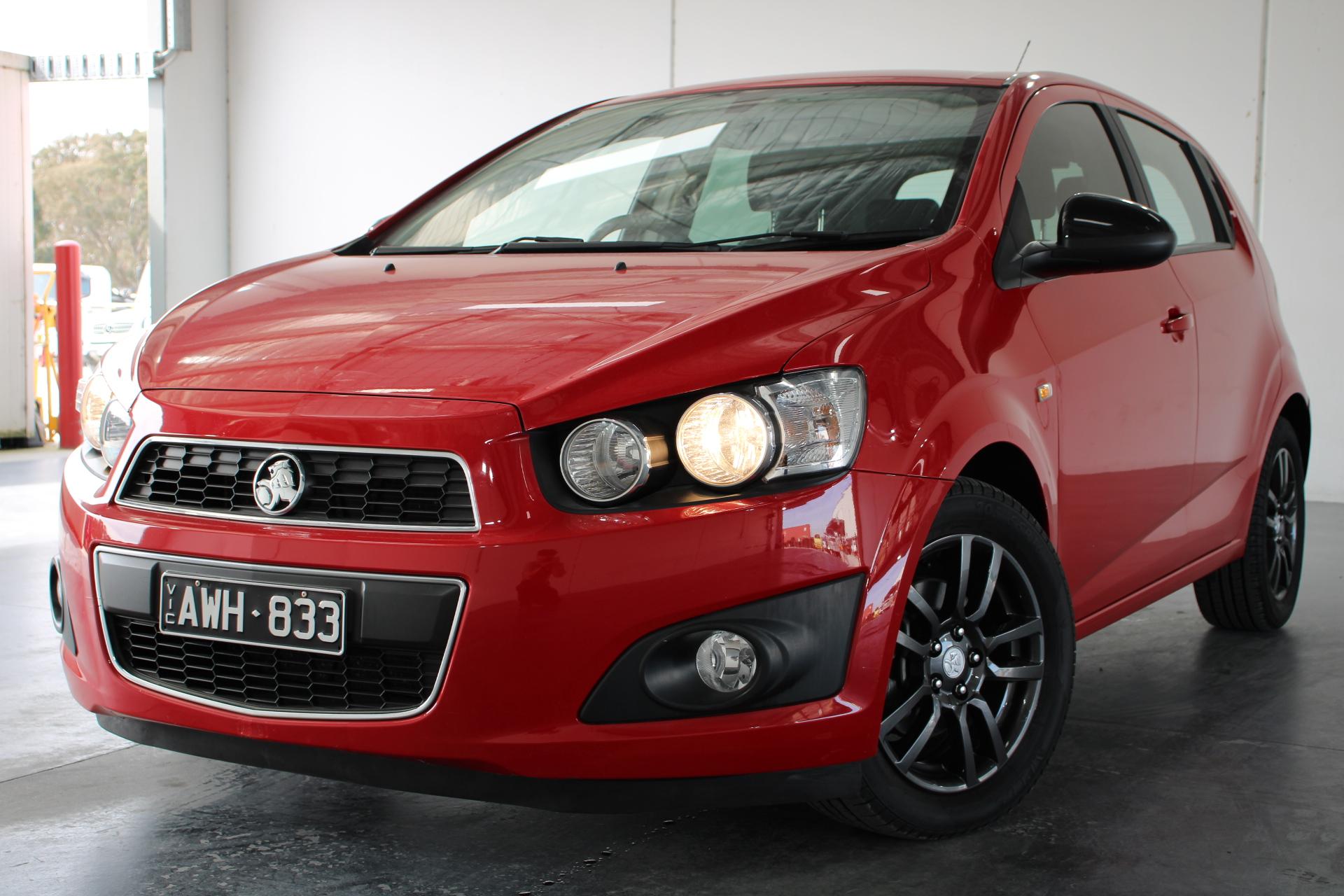 2015 Holden Barina TM Automatic Hatchback