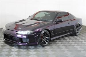 1999 Nissan Silvia N15 manual Coupe