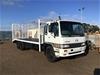 <p>1999 Hino  GH 6 x 2 Beavertail Truck</p>