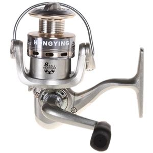 Fishing Reel Gear Ratio 5.2:1, Light Wei