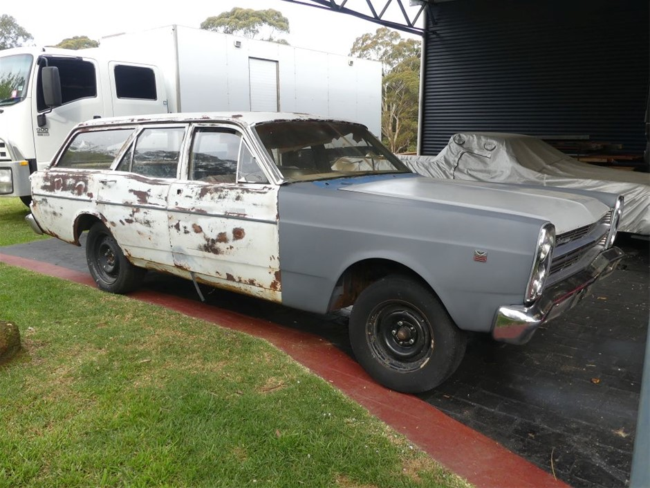 Ford Falcon 500 XY Station Wagon Unfinished Project