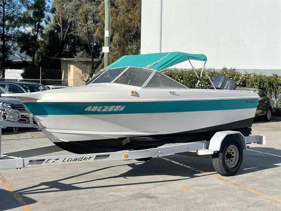 Caribbean 4.8m Boat, 90HP Yamaha 2008 Model, 82 Hrs
