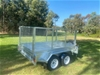 8 x 5 Tandem Axle Trailer 2000kg + 600mm Cage