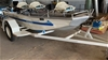 1993 Quintrex Barramundi Aluminium Boat on Single Axle Offroad Trailer