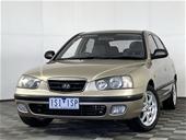 Unreserved 2002 Hyundai Elantra GL XD Automatic Hatchback