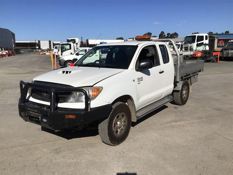 2006 Toyota HILUX 3.0 D-4D 4 x 4 Service Truck
