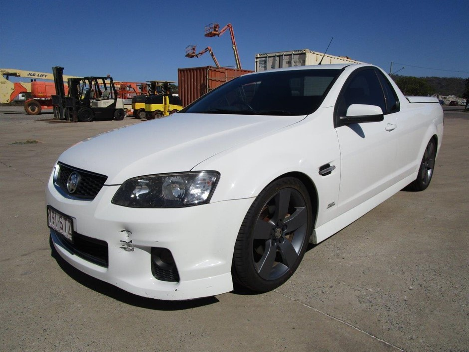 2012 Holden Commodore SV6 Z Series VE Series 2 Auto Ute 126,327kms