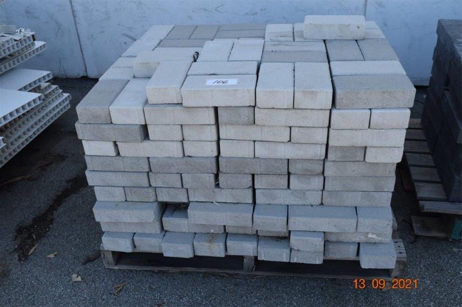 Lot of 370 Solid Standard Bricks