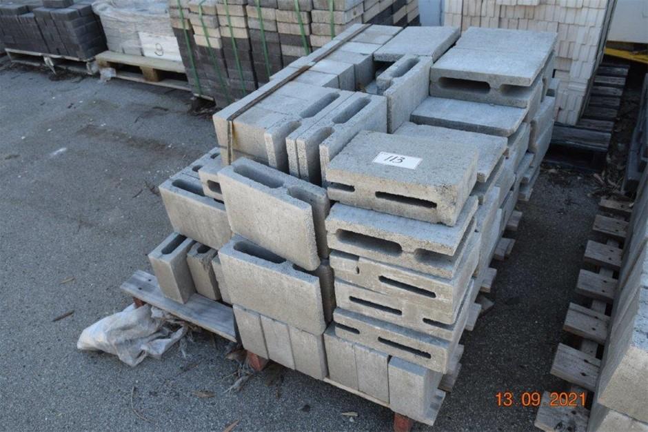 Lot of 50 Assorted Breeze Blocks