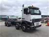 <p>1997 Volvo  FH12 8 x 4 Cab Chassis Truck</p>