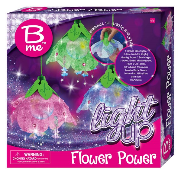 B ME Light Up Flower Power, Craft Toy. Buyers Note - Discount Freight Rates