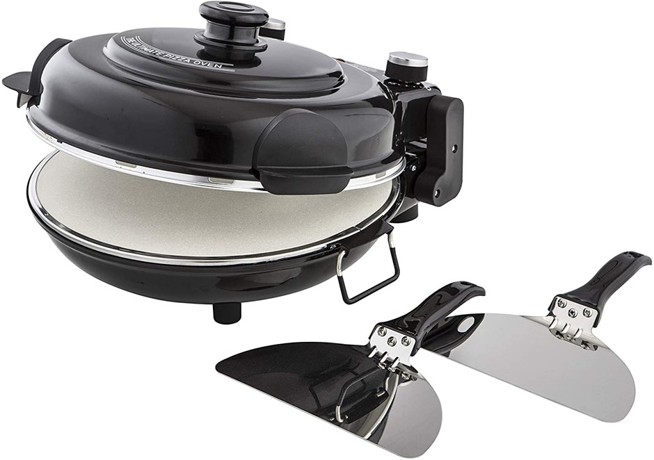 MASTERPRO Electric Pizza Maker. Buyers Note - Discount Freight Rates Apply