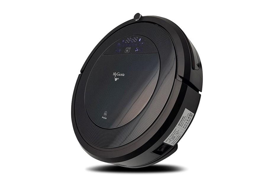 MYGENIE ZX100 Robotic Vacuum Cleaner, 30-40W Suction Power, Black, BDT-0101