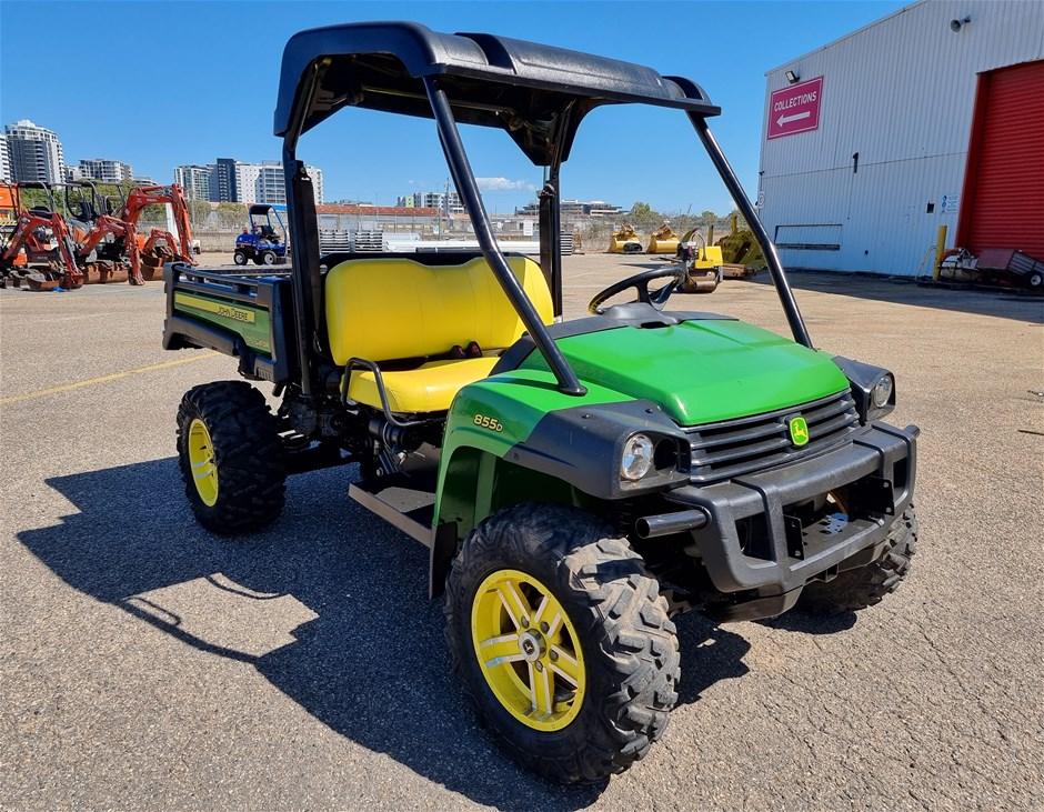 2013 John Deere Gator 855D ATV