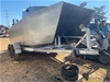 Shark Cat 4.8m Aluminium Catamaran on Trailer