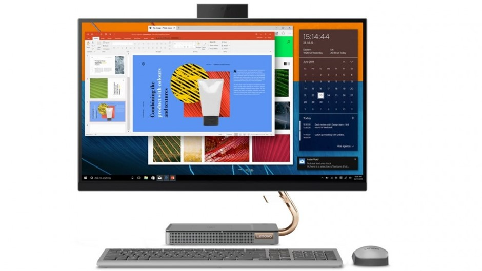 Lenovo IdeaCentre 5 27-IMB05 27-inch All-in-One PC, Mineral Grey