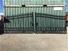 2021 Set of 2 Unused Wrought Iron Style Gates