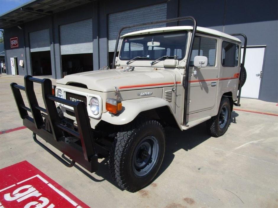 1979 Toytoa Landcruiser BJ40 (Factory Diesel) SWB Wagon