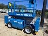 Circa 2005 Genie GS3268 All-Terrain Diesel Scissor Lift