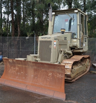 Cancelled: Unreserved Department of Defence Caterpillar D3 Dozers