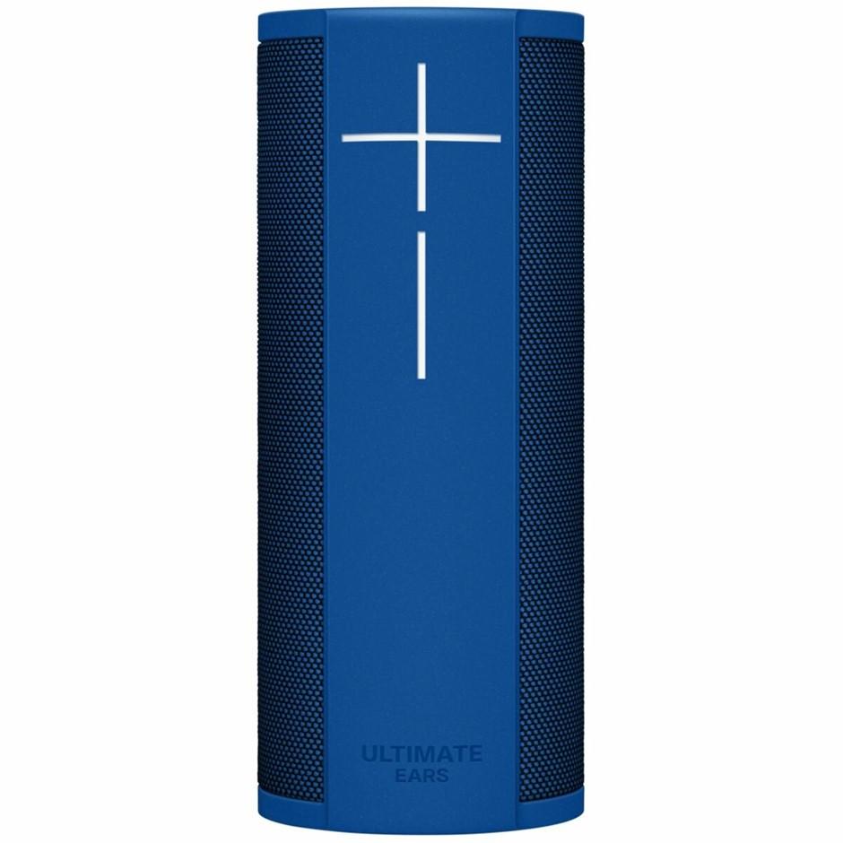 LOGITECH Ultimate Ears Megablast Portable Speaker, Blue Steel, LOE-984-0009