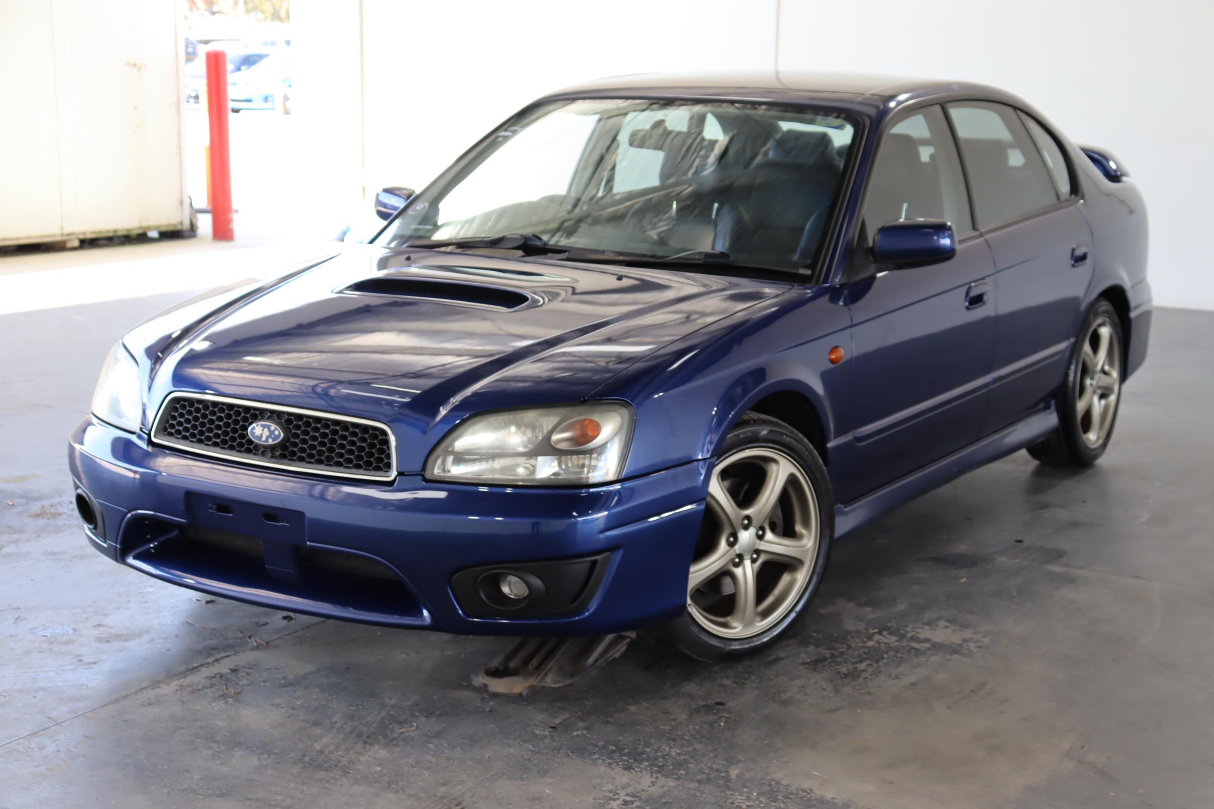 2003 Subaru Liberty B4 B3 Twin Turbo Automatic Sedan