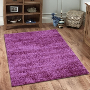Urban Shag Rug Purple 230x160cm