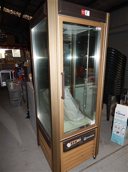 Refrigerated Rotating Cake Display Cabinet Scaiola Four