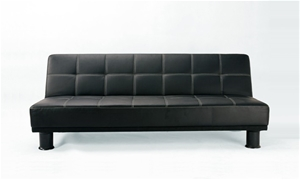 2m Folding Sofa Bed Lounge Couch 2 In 1 Black Auction