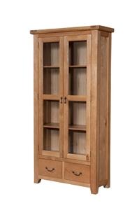 High Quality Solid American Oak Display Cabinet Auction 0008 2073114 Graysonline Australia