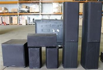 wharfedale diamond 9 5 surround system speaker package auction 0003 9001252 graysonline. Black Bedroom Furniture Sets. Home Design Ideas