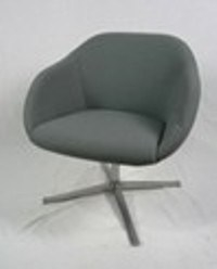 6 x armchairs 2 x grey walter knoll turtle chair grey. Black Bedroom Furniture Sets. Home Design Ideas
