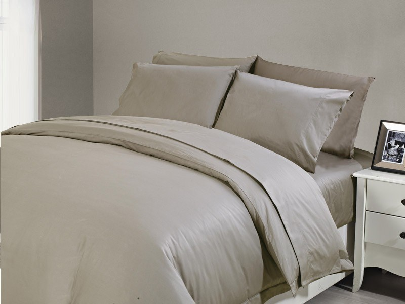 1200 TC Sheet Set King Taupe