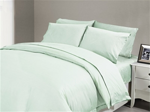 1200 TC Fitted Sheet Single Minty
