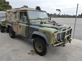 Land Rover 110 6x6 Air Defence Hard Top Auction (0002-8001037 ...