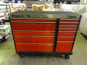 Mobile Tool Chest Snap On 2000 Series Auction 0002