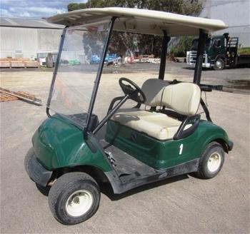 2007 yamaha electric golf cart auction 0013 3004057 for Yamaha golf cart id
