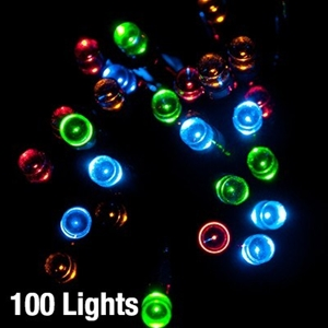 multi colour solar straight strand xmas lights graysonline australia
