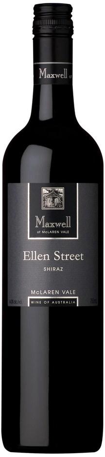 Maxwell `Ellen Street` Shiraz 2010 (12 x 750mL), McLaren Vale, SA.